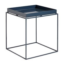 HAY - Table d'appoint Tray brillance supérieure M