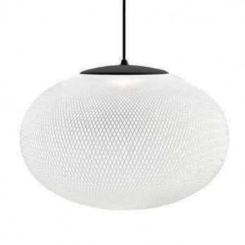 Moooi - NR2 LED Medium Pendelleuchte - weiß/schwarz/2700K/ 450lm/Ø 55cm