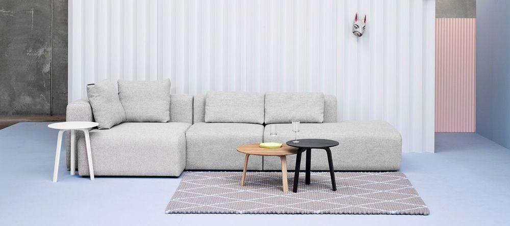Möbel Bella Coffee Table Mags Sofa Dot Teppich HAY