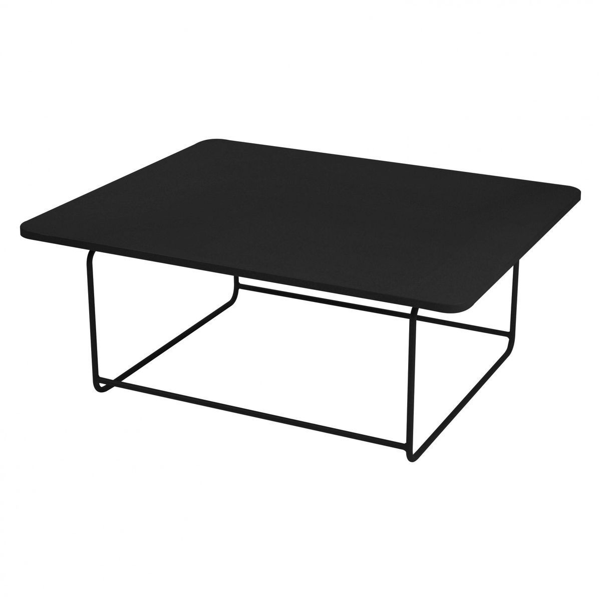 ellipse side table fermob. Black Bedroom Furniture Sets. Home Design Ideas