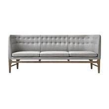 &tradition - Mayor AJ5 3-Sitzer Sofa Gestell Eiche