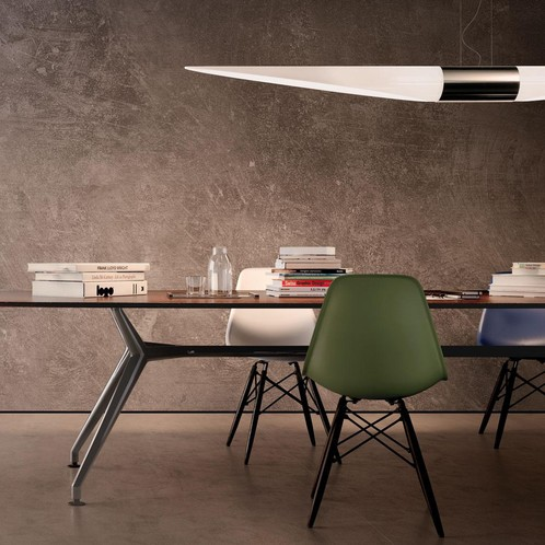 Vitra - Eames Plastic Side Chair DSW Ahorn schwarz 43