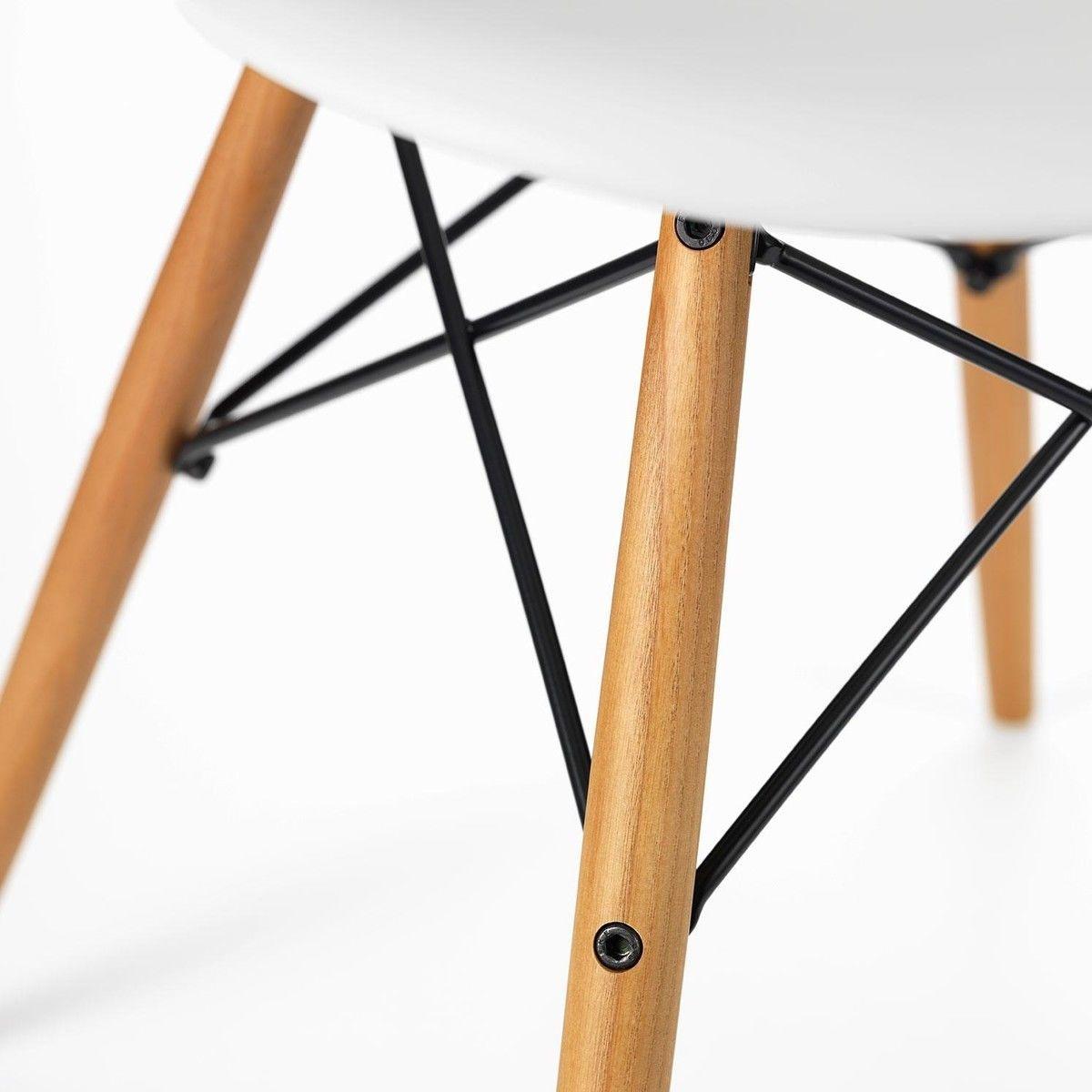 Eames plastic chair vitra - Vitra Eames Plastic Armchair Daw Ash