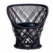 Driade - Pavo Armlehnstuhl - braun/lackiert/mit Sitzkissen