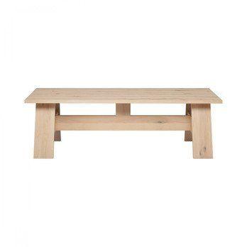 e15 - e15 DC01 Fayland Tisch - eiche/weiss pigmentiert/LxBxH 250x100x75cm