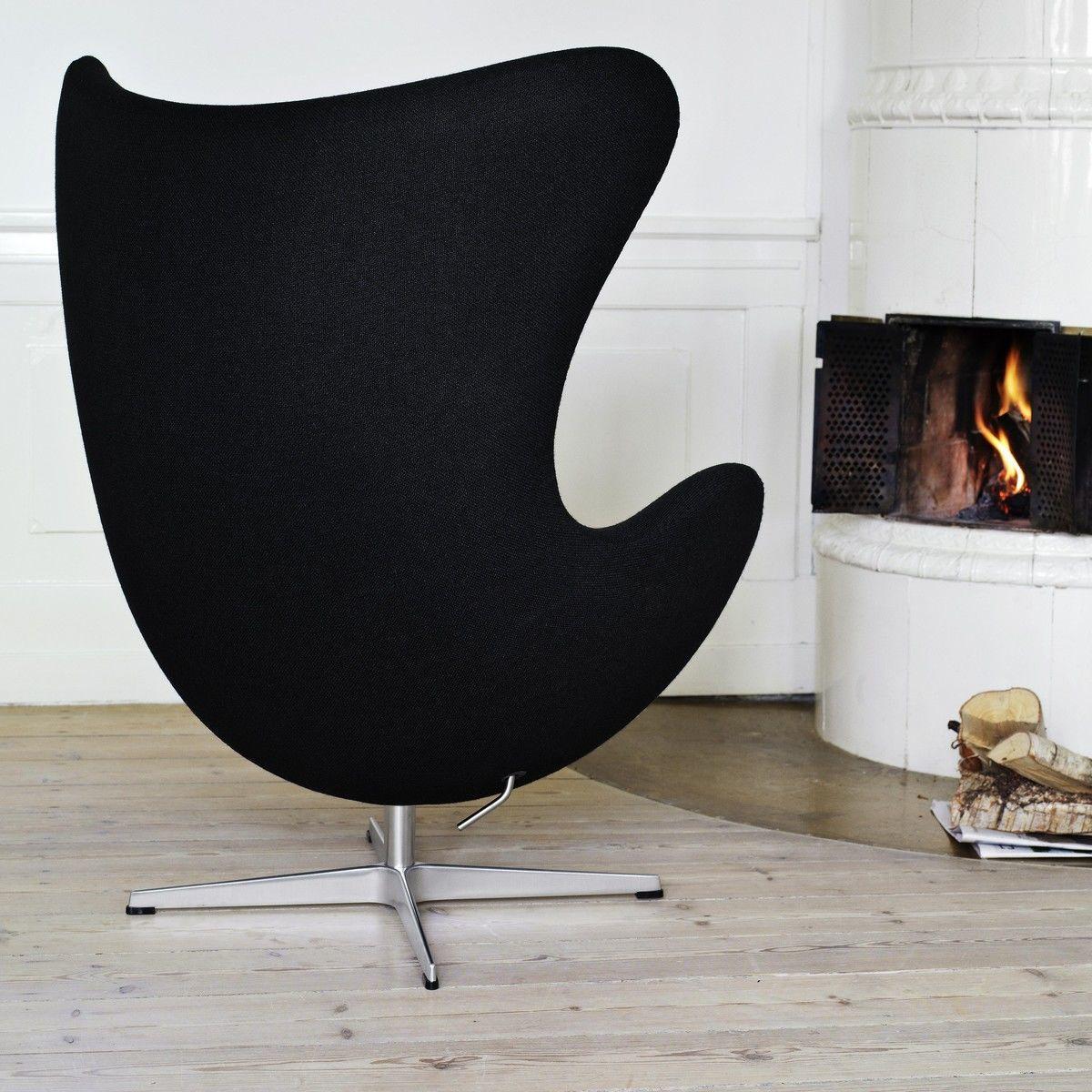 Egg Chair/ Das Ei Loungesessel Stoff   Fritz Hansen ...
