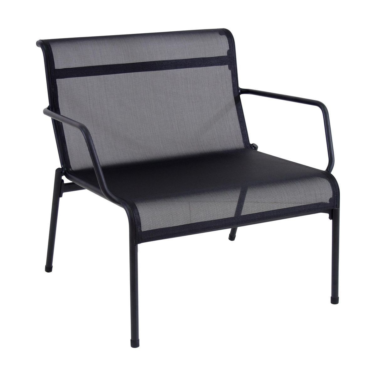 emu kira lounge chair outdoor blackemutex