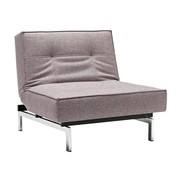 Innovation - Splitback Easy Chair Chrome