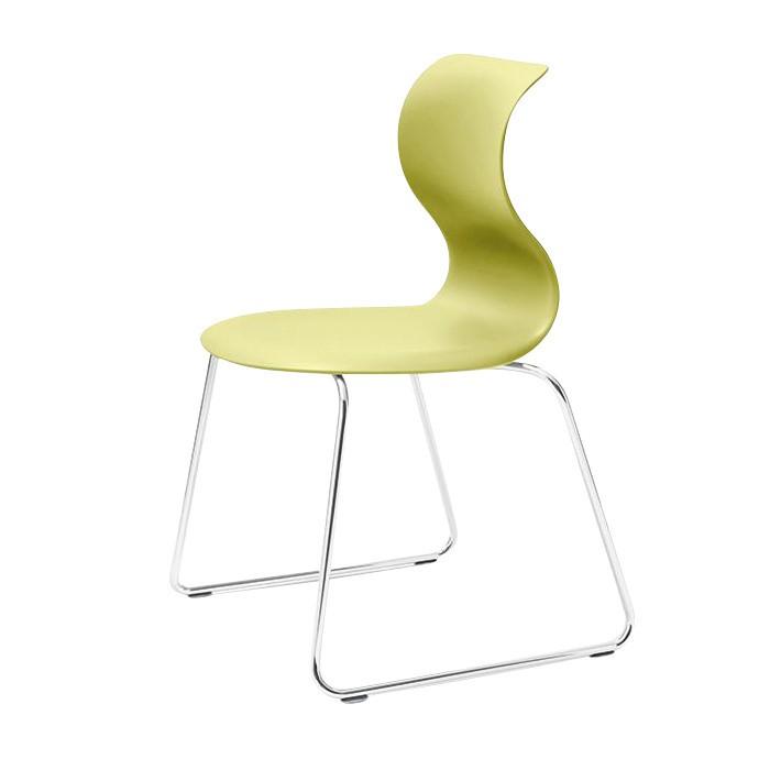Fl Totto Pro 6 Stuhl Mit Kufen Gestell Chrom Ambientedirect