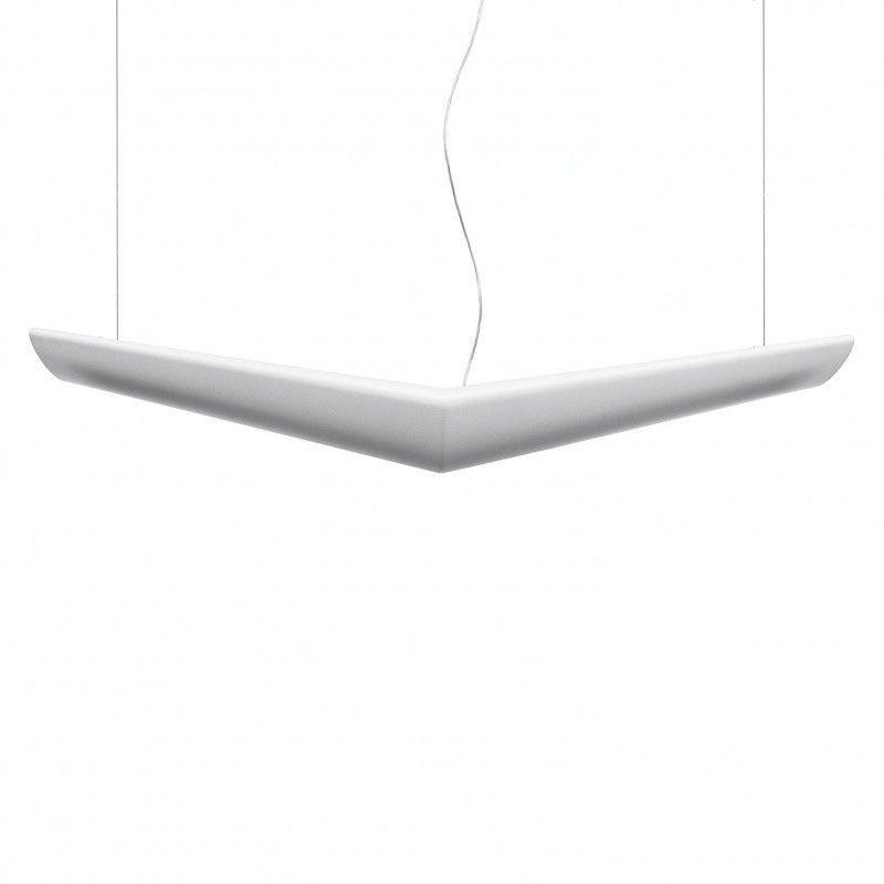 mouette pendelleuchte symmetrisch artemide. Black Bedroom Furniture Sets. Home Design Ideas