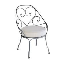 Fermob - Cabriolet Gartenstuhl mit Sitzkissen