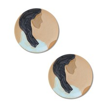 ferm LIVING - Hessa Ceramic Plate Set of 2