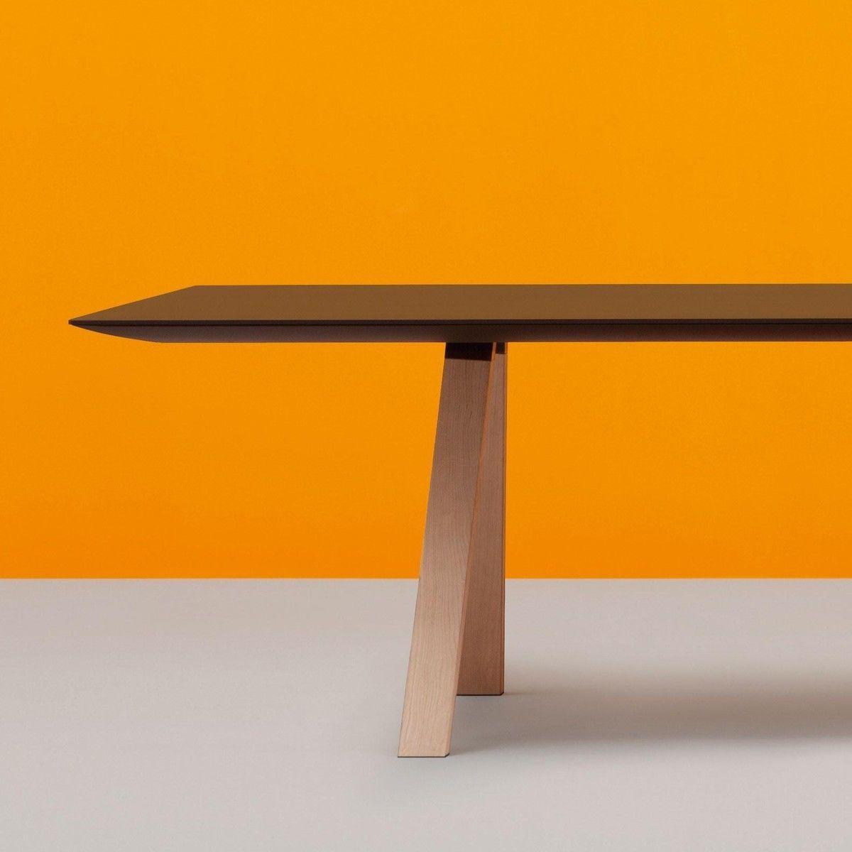 arki table wood dining table 300x100cm pedrali. Black Bedroom Furniture Sets. Home Design Ideas