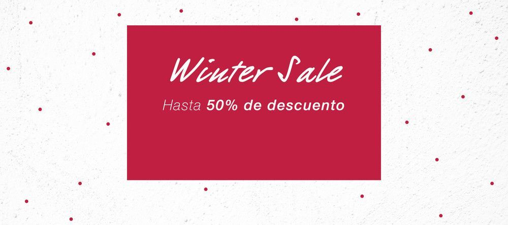 Winter Sale Presenter Home ES