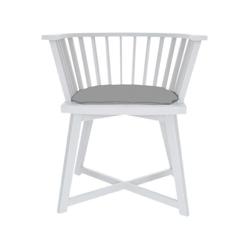 High Quality Gervasoni   Gray 24 Armchair   Oak White/cushion ...