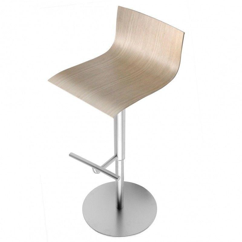 thin bar stool adjustable la palma. Black Bedroom Furniture Sets. Home Design Ideas