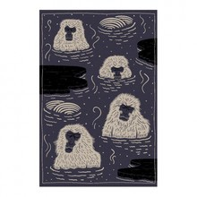 Moooi Carpets - Tapis Indigo Macaque Blue