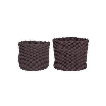 - Bloomingville Textil Korb 2er Set -