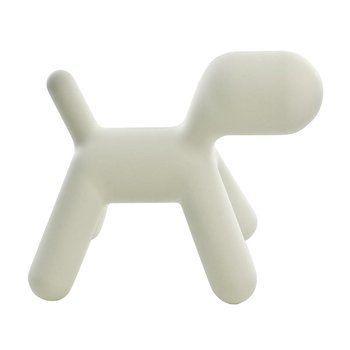 Magis - Puppy XL Hund - weiß/Kunststoff/LxBxH 102x61,5x81cm