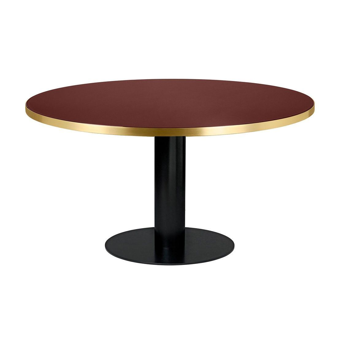 2 0 dining table table structure noir 150cm gubi for Table structure