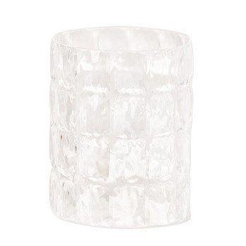 Kartell - Matelassé Vase - transparent/transparent