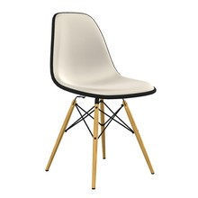 Vitra - Eames Plastic Side Chair DSW Full Upholstery