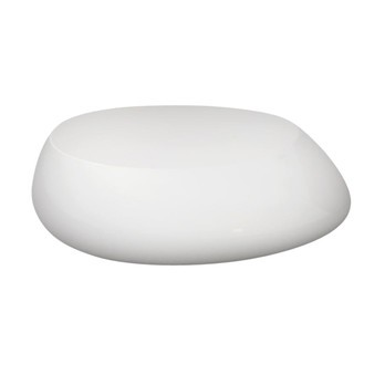Vondom - Stones Beistelltisch - weiß/matt