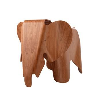Vitra - Eames Elephant aus Holz - natur/amerikanischer Kirschbaum/LxBxH 78,5x41x,41,5cm