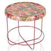 Moroso - Ukiyo Tisch rund - rot