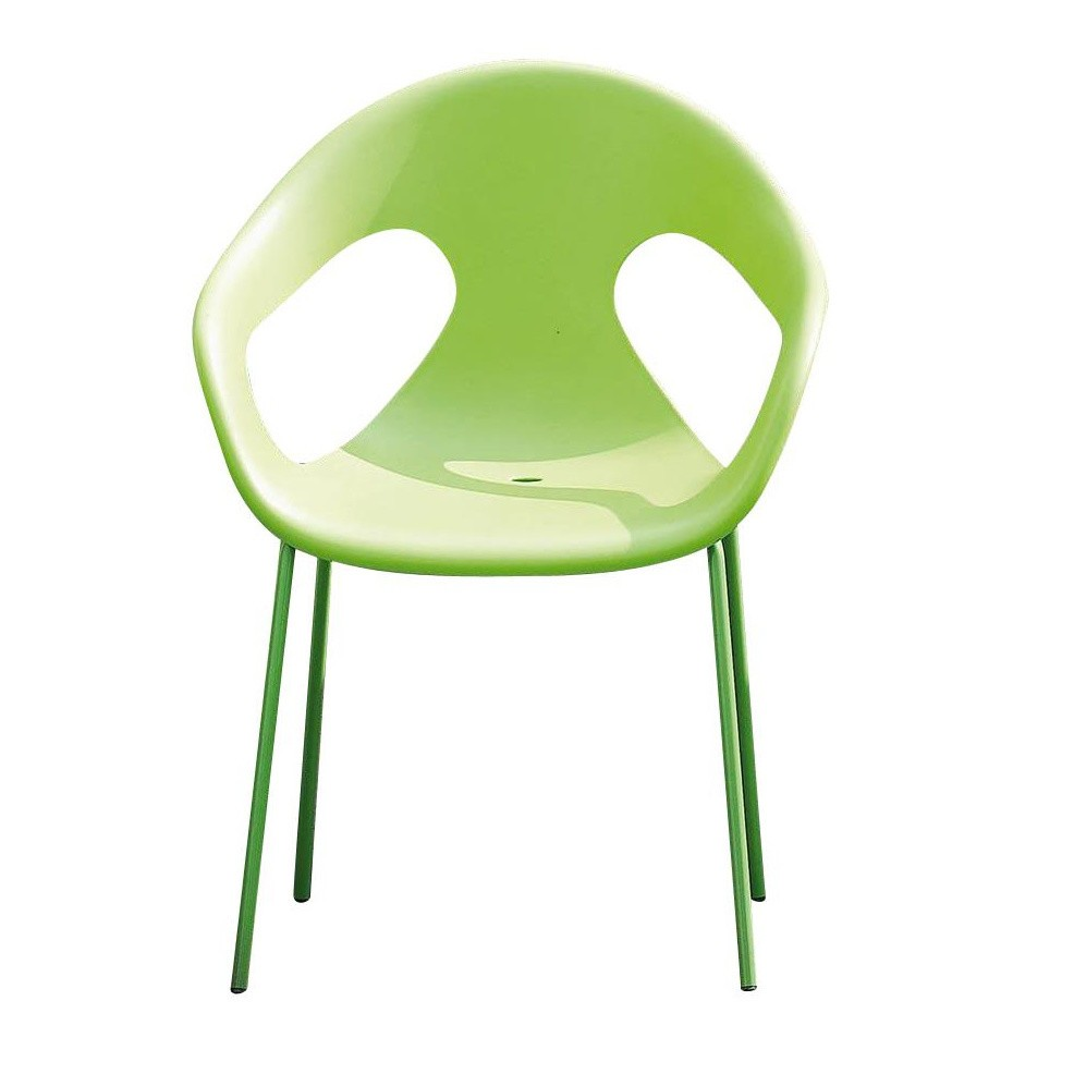 Jan Kurtz Sunny Garden Chair Green Seating Polypropylene Wxhxd