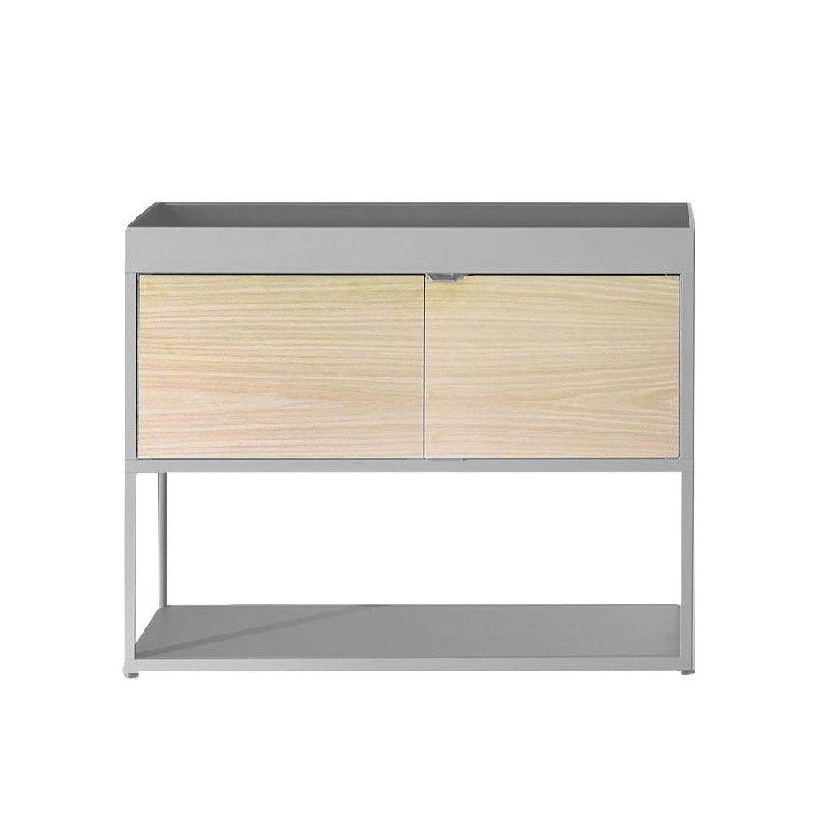 new order regal mit t r hay. Black Bedroom Furniture Sets. Home Design Ideas