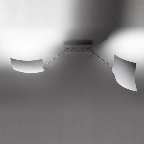 Ingo Maurer - 2 x 18 x 18 LED Decken-/Wandleuchte