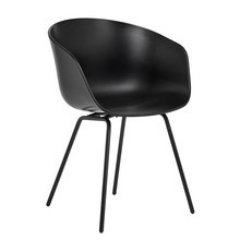 HAY - About a Chair 26 Gestell Stahl schwarz