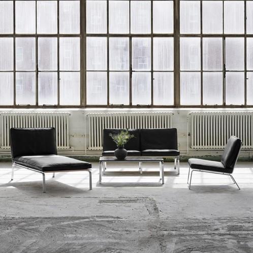 NORR 11 - Man Lounge 2-Sitzer Ledersofa