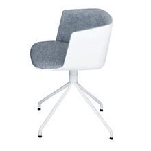 la palma - Cut - Chaise rembourrée avec piètement étoilé