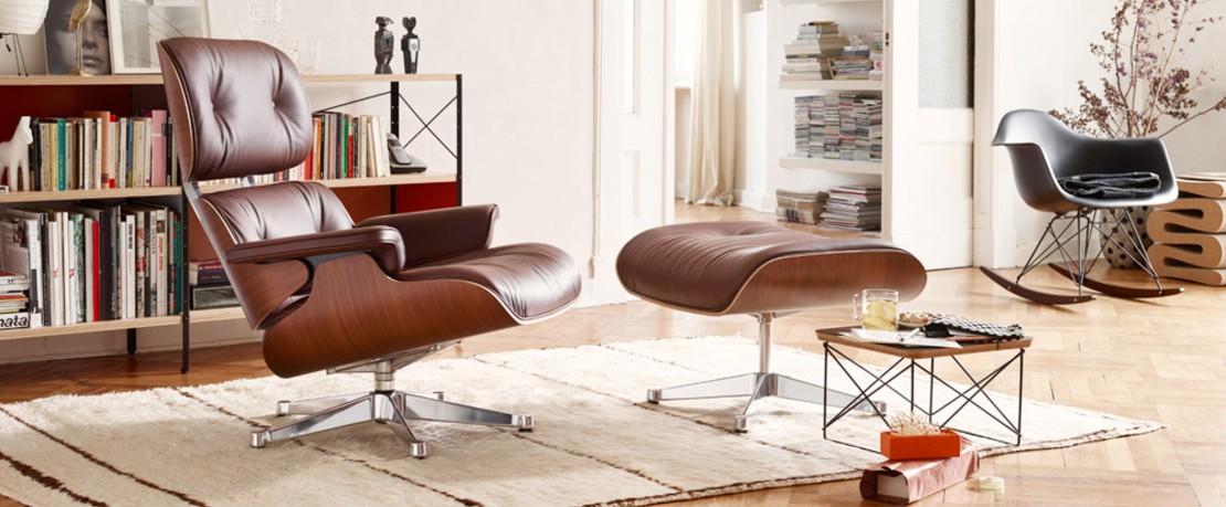 Vitra Eames Lounge Chair mit Hocker