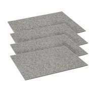 Hey-Sign - Place mat Set of 4 Rectangular 45x35cm