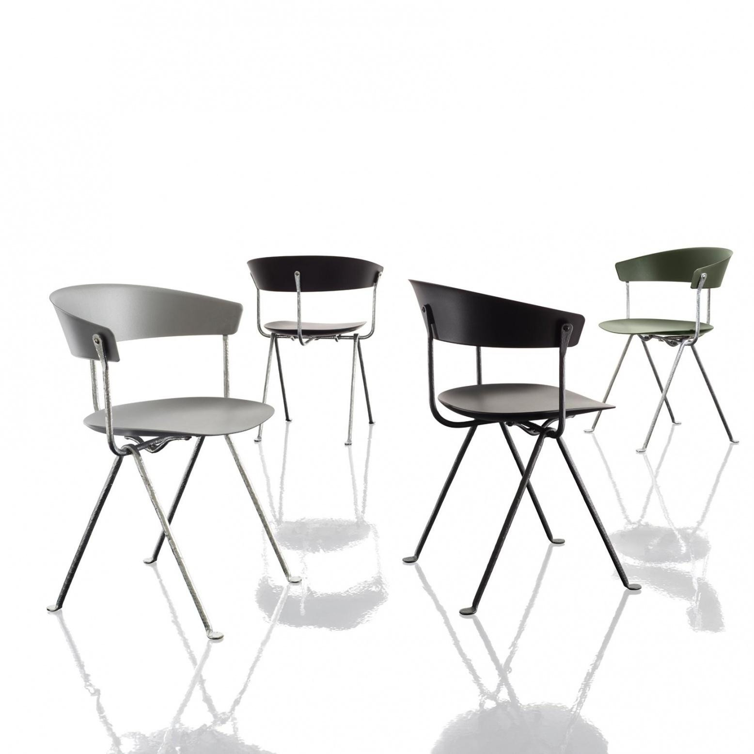 magis officina chair frame black ambientedirect  exclusive sale only for styleclub members