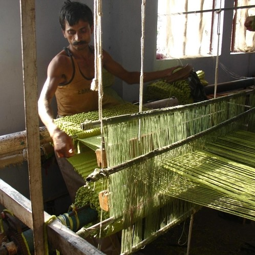 Nanimarquina - Velvet handgewebter Woll-Teppich