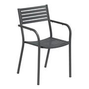 emu - Chaise de jardin avec accoudoirs Segno
