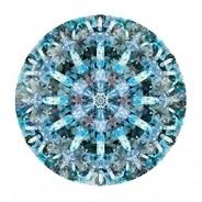 Moooi Carpets - Crystal Ice Teppich rund