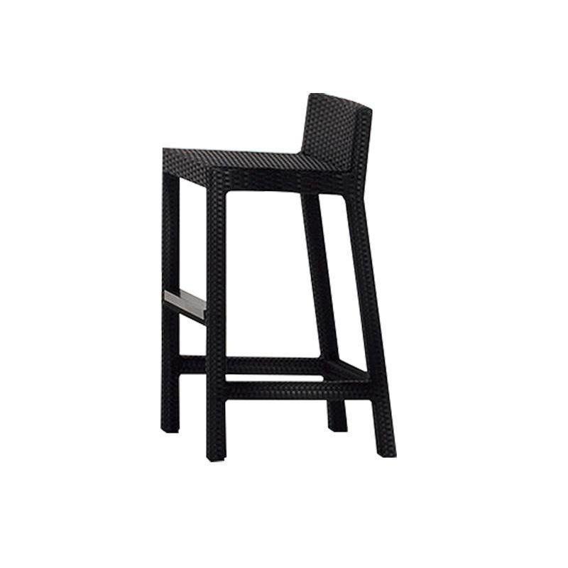 inout 228 tabouret de bar poly rotin gervasoni. Black Bedroom Furniture Sets. Home Design Ideas