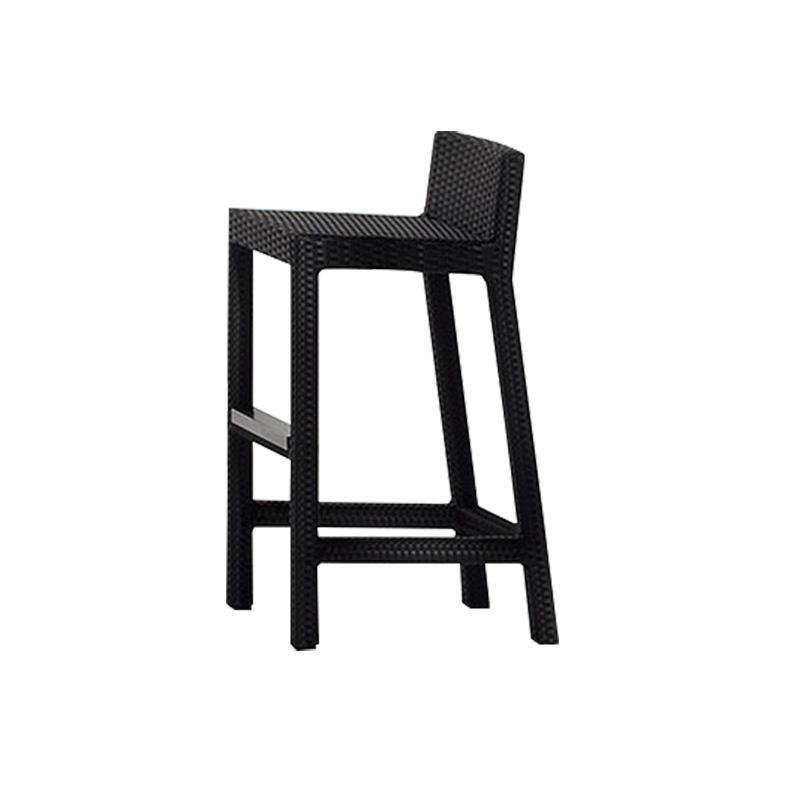 bar stools rattan seat