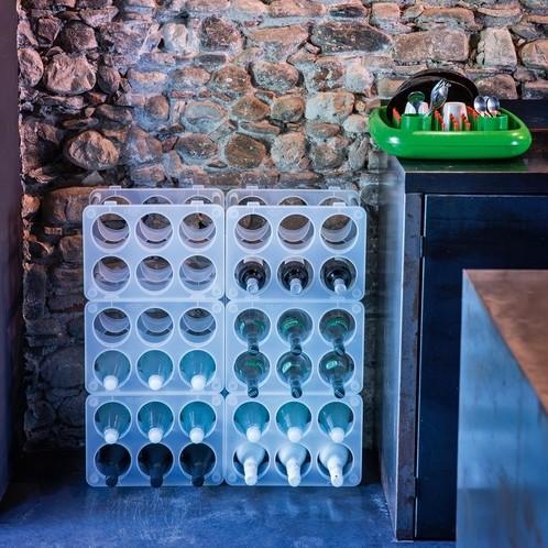 Magis - Bottle Flaschenregal stapelbar