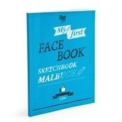 Donkey Products - My first Face-Book Malbuch - blau