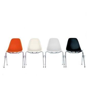 Eames Plastic Side Chair eames plastic side chair dss vitra ambientedirect com