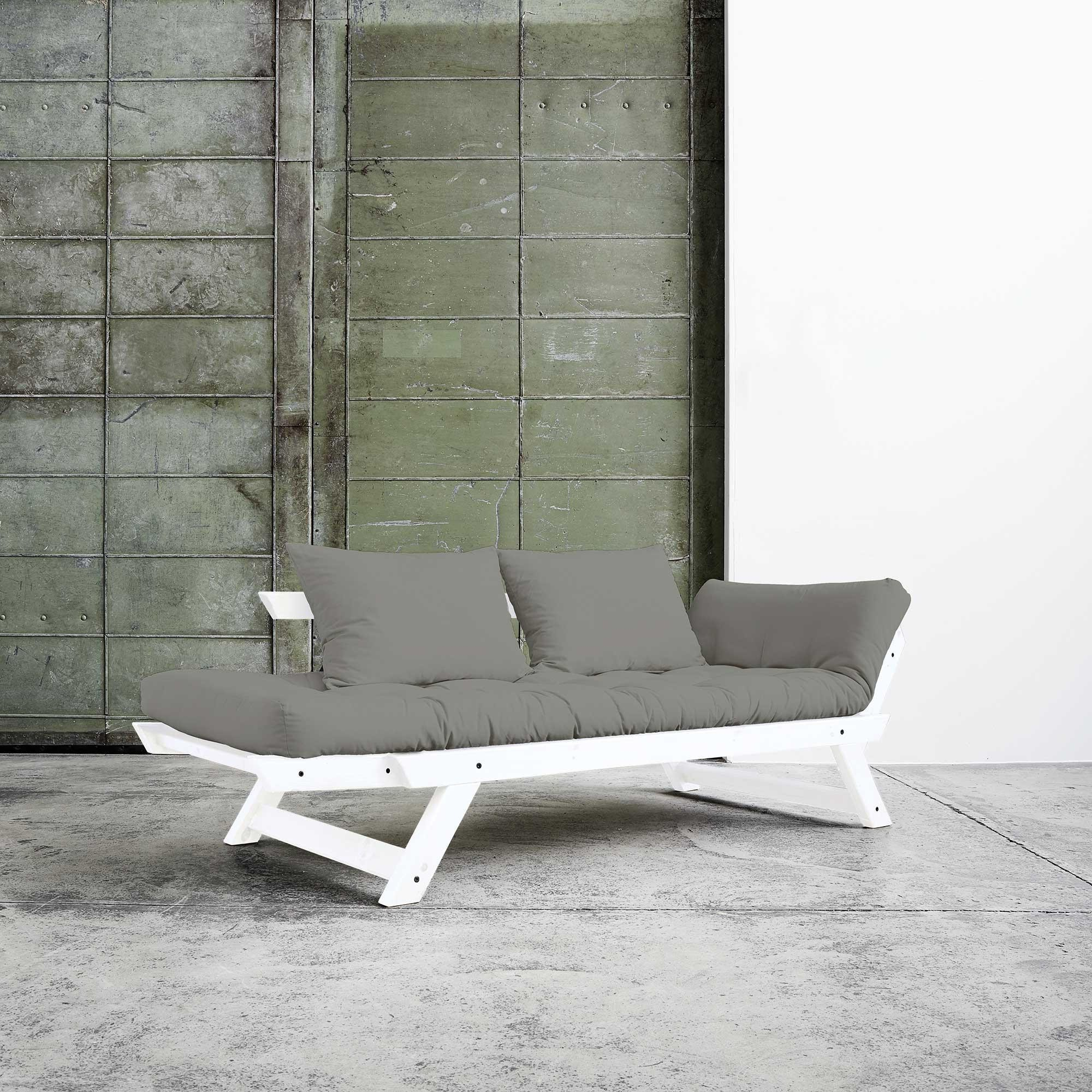 karup bebop sofa bed white laquered pine base ambientedirect rh ambientedirect com