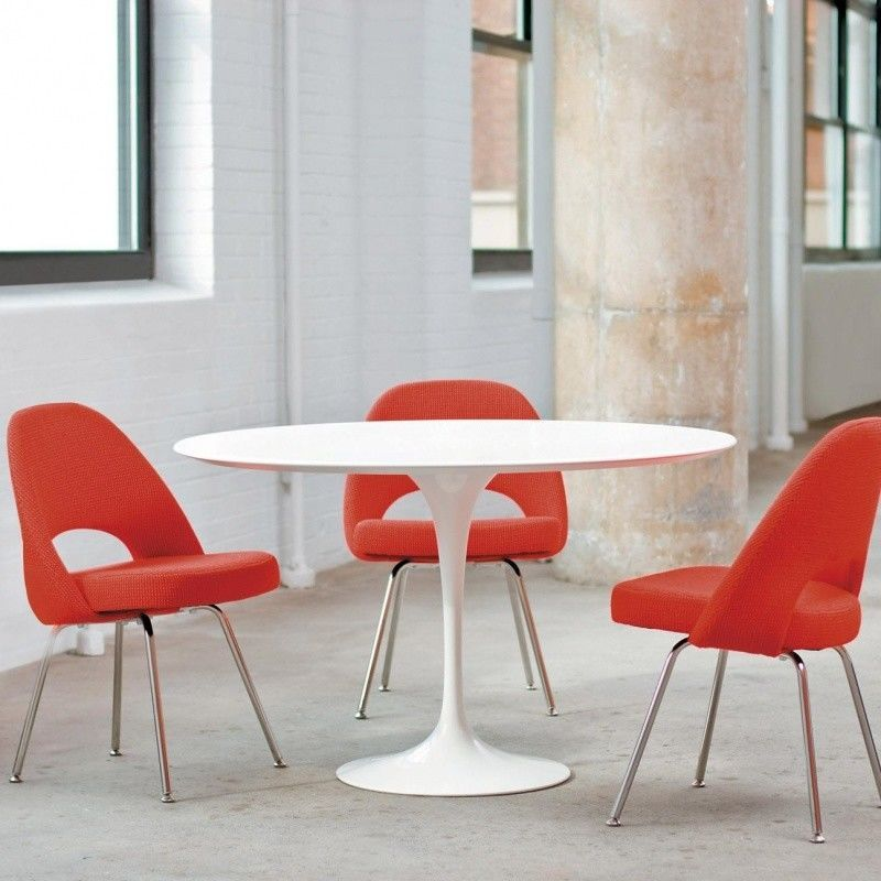 Saarinen tafel 137cm knoll international - Tafel knoll ...