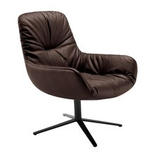 Freifrau - Leya Lounge Chair X-Base Frame