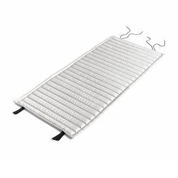 HAY - Palissade Steppkissen 117x49.5cm - himmelgrau/wasserabweisend/für Palissade Lounge Stuhl low